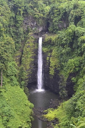 Sopoaga Falls: Sopo'aga Waterfall, Upolu Island.