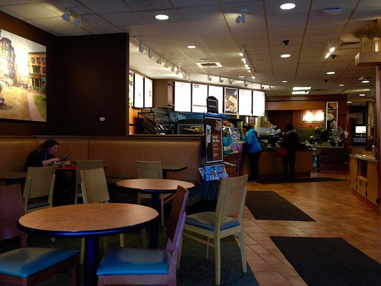 Lisbon, CT: Panera Bread - Interior View
