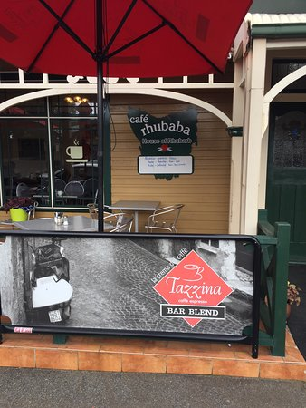 Scottsdale, Australia: Lovely little cafe with some interesting flavours
