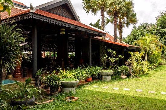 Lucky Angkor Hotel: Garden