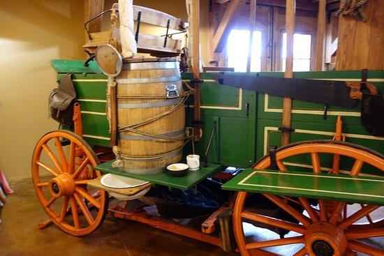 Raymond, WA: A cowboy could shave at the chuck wagon