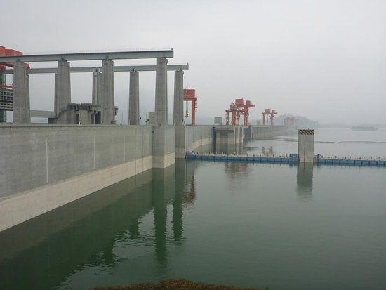 Yichang, China: Three Gorges Dam Project