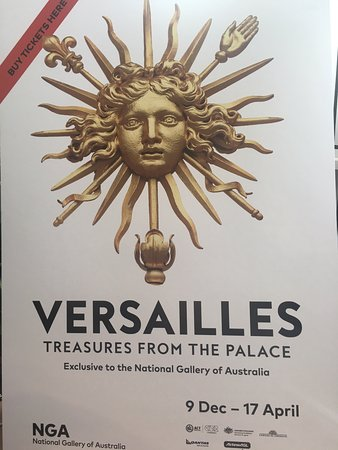 Forrest Hotel And Apartments: VERSAILLES TREASURES FROM THE PALCE NATINAL GALLERY OF AUSTRALIA 9DEC - 17 APRIL