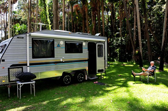 Twin Dolphins Holiday Park: Large camping ground