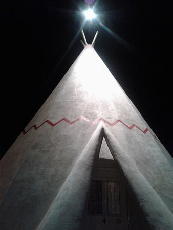 Wigwam Motel: My number 4 teepee! I think I stayed in #2 back in '09!