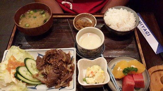 Restoran Miyagi: Yakiniku Set