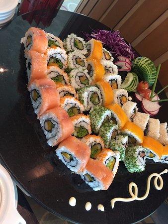 Metro Manila, Philippines: sushi bar