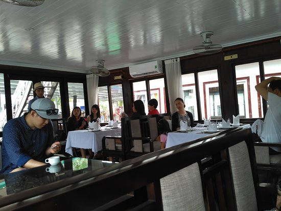 Darian Culbert: Lunch time on the boat
