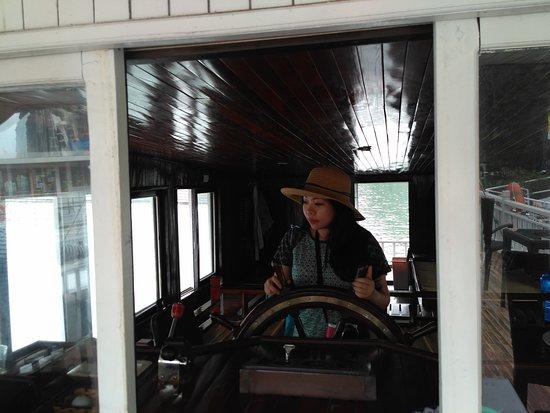 Darian Culbert: Captain of the boat