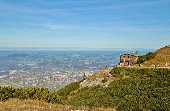 Grödig, Austria: Blick auf die Hochalm