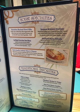 Arroyo Grande, CA: Good food, extensive menu!