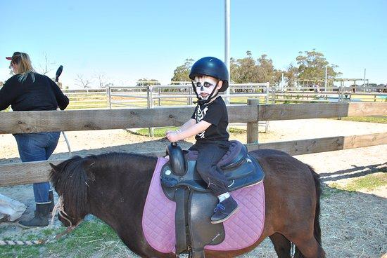 Moorooduc, Australia: pony ride