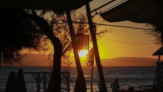 Agia Anna, Greece: Sunset