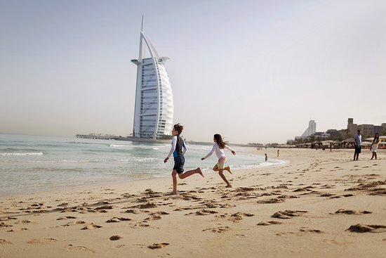 Play on Dubai's pristine beaches amongst iconic backdrops this winter