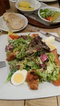 Haus Scholzen: Chefsalat