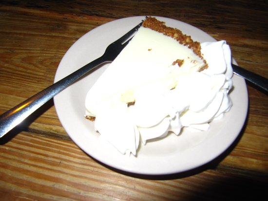 Up the Creek Raw Bar: key lime pie