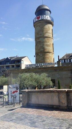 Visite du Chateau d'eau: L'office du Tourisme de Brive-la-Gaillarde