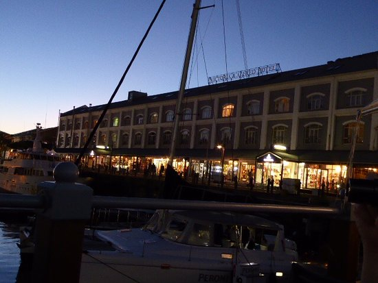 Victoria & Alfred Hotel: View from the Water at Night