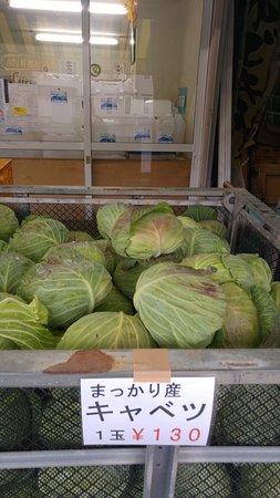 Makkari-mura, Japan: Lovely fresh cabbages.....