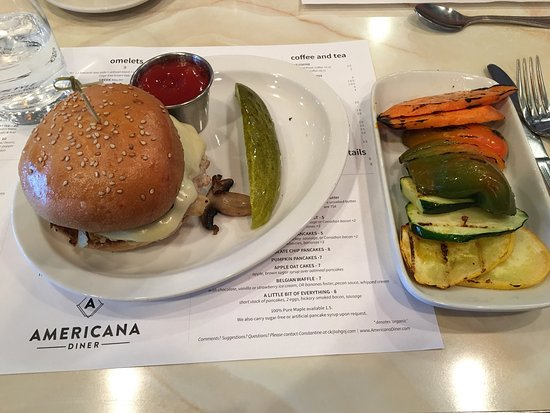 Americana Kitchen Bar East Windsor Menu Prices