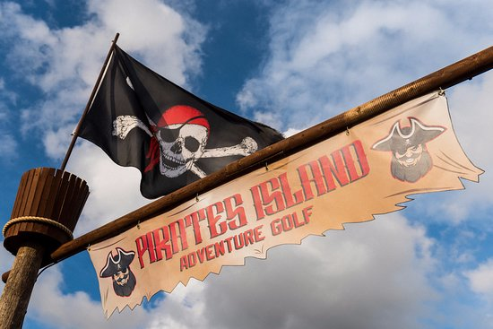 Blofield, UK: Fun at Pirates Island Adventure Golf!
