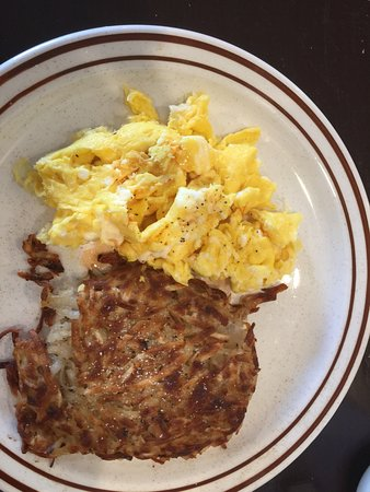 Banning, Kalifornia: Eggs and Hash Browns