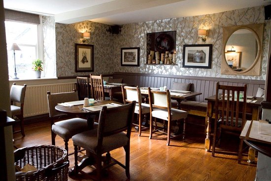 The Royal Oak: One of our dining areas