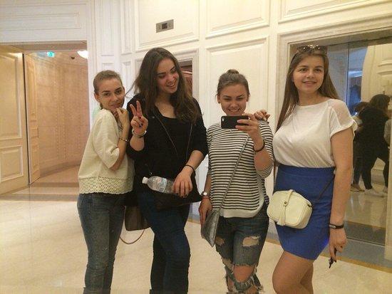 Fairmont Grand Hotel Kyiv: Зона лифтов