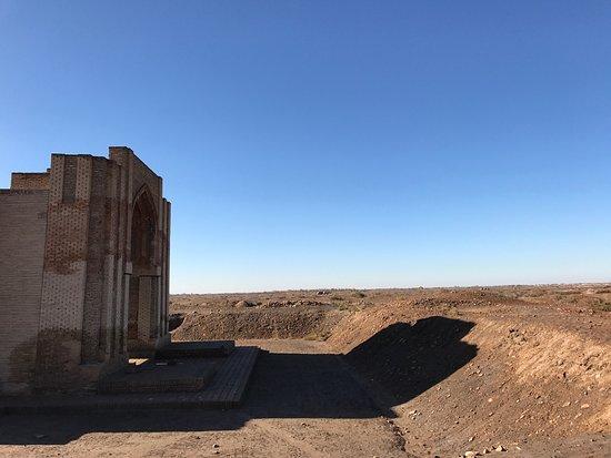 Kunya-Urgench, Turkmenistan: Gate of the Caravanserai