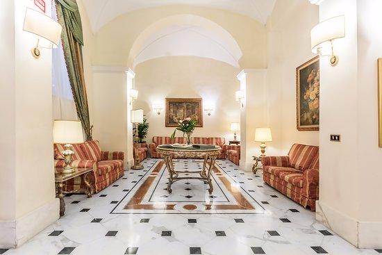 Hotel Archimede: living room