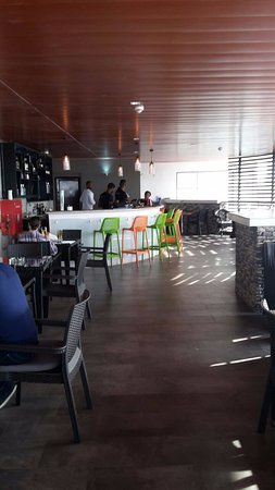 """The Terrace"" bar/bistro at Filmhouse IMAX in Lekki"