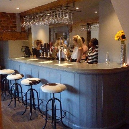 Wingham, UK: The bar