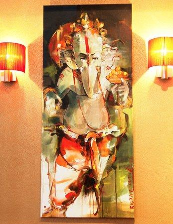 Jaipur: Ganesha Painting