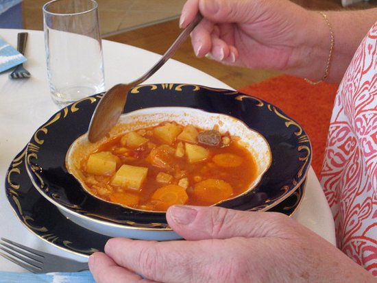 Culinary Hungary Home Cooking Class and Market Tour: great goulash soup