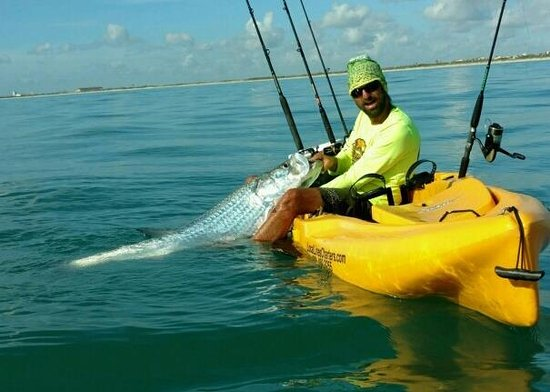Having a blast in the banana river picture of a1a beach for Port canaveral fishing