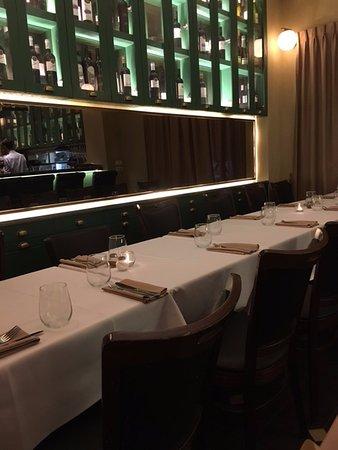 Pankina Italian Restaurant And Wine Bar Interior Of The Behind Corner