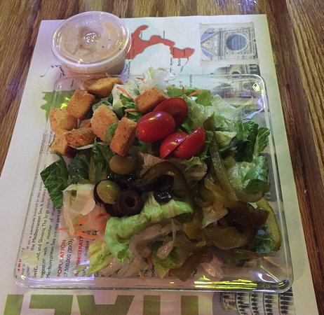 Pittston, Pensilvania: The Side Salad