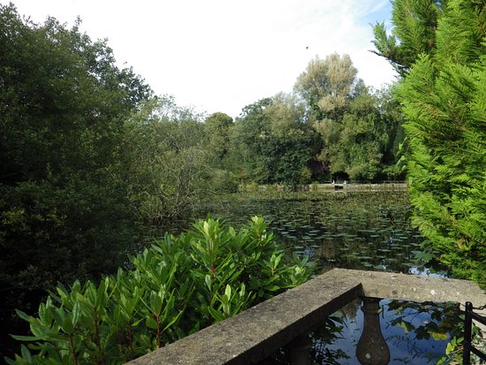 Tullow, Ierland: Looking across the lake at Altamont Gardens Carlow