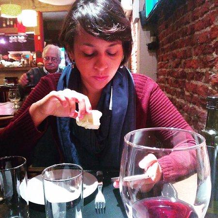 La Parrillita: Bom vinho
