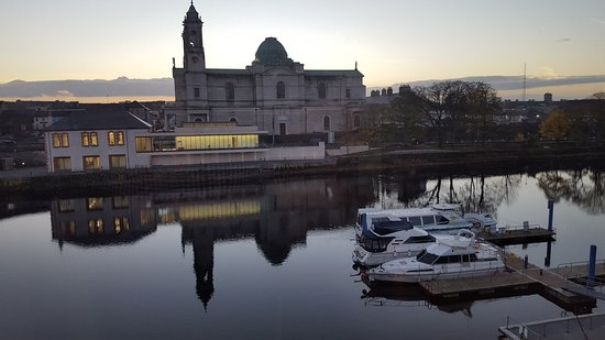 Radisson Blu Hotel, Athlone: View from Room 211 - Lough Derravaragh Suite