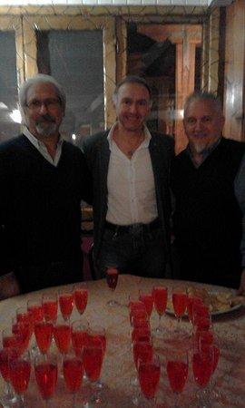 La Locanda di Maurizio e Coca: Sergio ,Lucio e Ignazio
