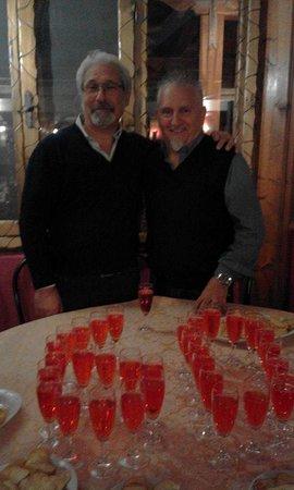 La Locanda di Maurizio e Coca: sergio e Ignazio