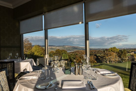 Gleddoch Hotel, Spa & Golf: Vista Restaurant Dinner