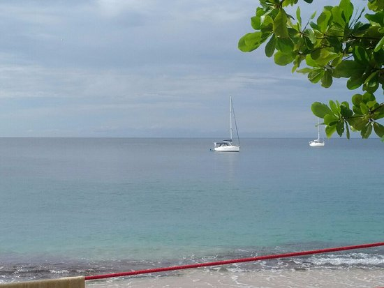 Lower Bay, Бекия: White sand and blue water