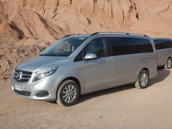 Alto Atacama Desert Lodge & Spa: Airport Pick up Vans