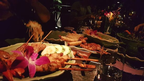 Restaurant Samui-Thai : Starter plate