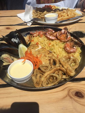 quay four sea food platter for 1