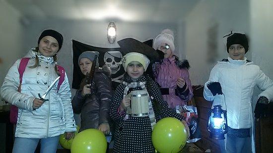 Podolsk, Russland: День рождения