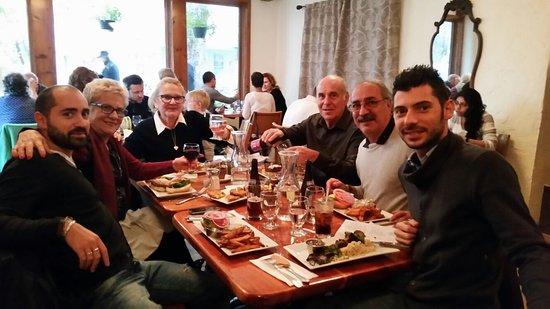 Woodstock, Nova York: Bel ristorante e cibo buonissimo. Thank's from Italy