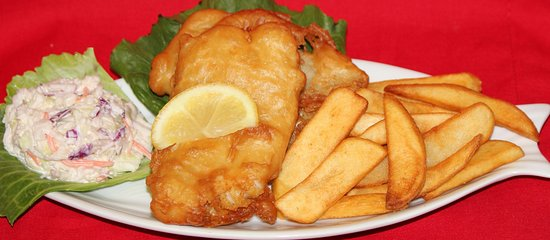 Hudson, ฟลอริด้า: Fish & Chips